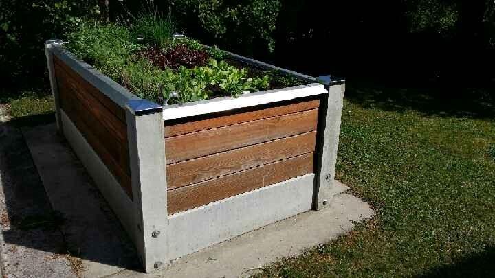 Hochbeet Fruhbeet Betonwerk Scholz Wasserbehalter Troge